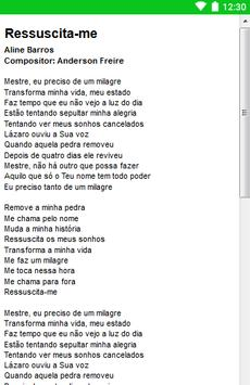 Aline Barros Letras screenshot 3
