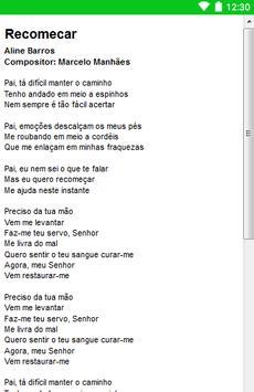 Aline Barros Letras screenshot 14