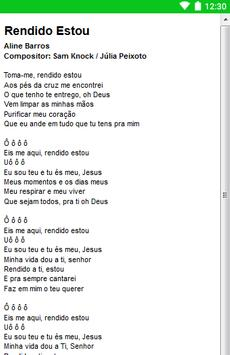 Aline Barros Letras screenshot 15