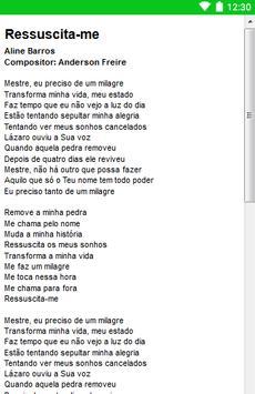 Aline Barros Letras screenshot 19