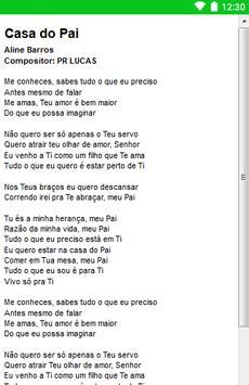 Aline Barros Letras screenshot 2