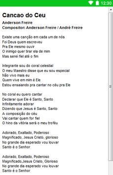 Anderson Freire Letras screenshot 14