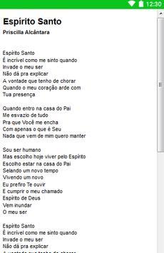 Priscilla Alcântara Letras screenshot 2