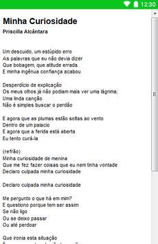 Priscilla Alcântara Letras screenshot 5