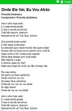 Priscilla Alcântara Letras screenshot 6
