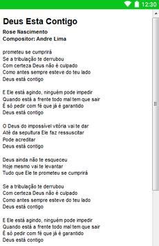 Rose Nascimento Letras screenshot 6