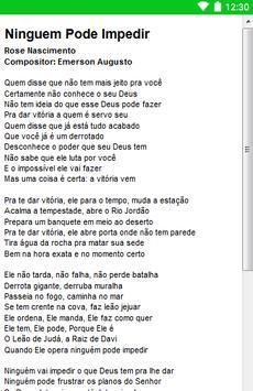 Rose Nascimento Letras screenshot 15