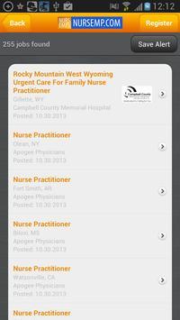 Nursing & Allied Health Jobs apk screenshot