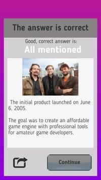 Unity Quiz screenshot 2
