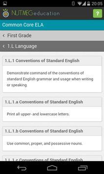 Common Core Reference: ELA apk screenshot