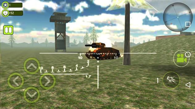 Grand Tank Shooter Games - War Strike Machines screenshot 1