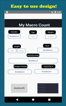 My Macro Count imagem de tela 6