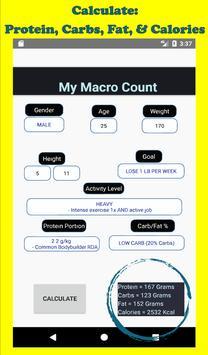 My Macro Count imagem de tela 13