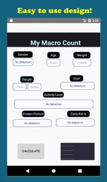 My Macro Count imagem de tela 10