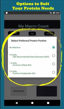 My Macro Count imagem de tela 12