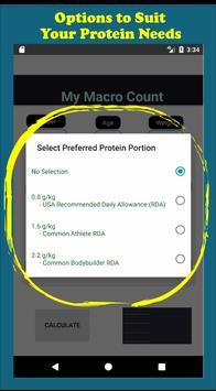 My Macro Count imagem de tela 1