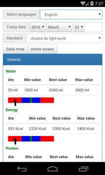 Daily nutrients screenshot 2