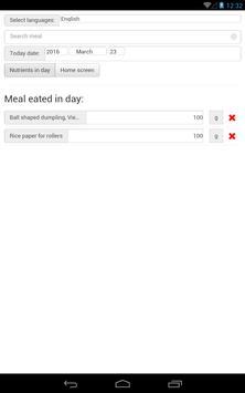 Daily nutrients screenshot 7