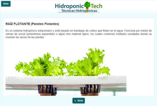 Hydroponic Tech - Técnicas Hidropónicas apk screenshot
