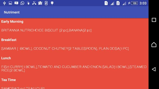 Nutriment apk screenshot