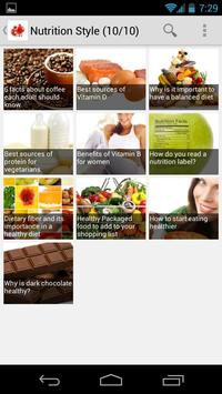 Nutrition Style apk screenshot