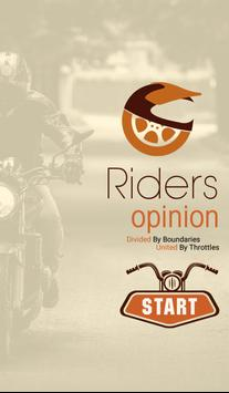 Riders Opinion poster