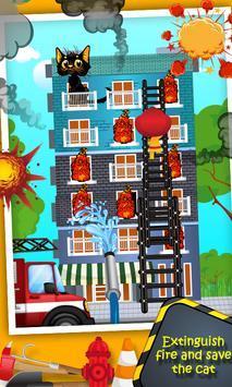Top Fire Man Army Truck screenshot 3