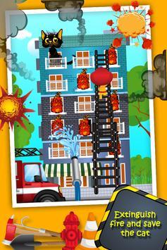 Top Fire Man Army Truck screenshot 13