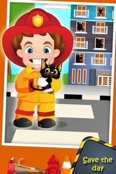 Top Fire Man Army Truck screenshot 14