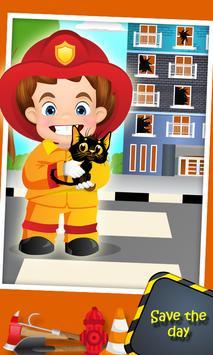 Top Fire Man Army Truck screenshot 4