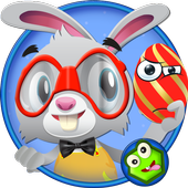 Bunny Eggs Easter icon