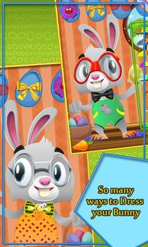 Bunny Eggs Easter poster
