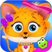 Baby Kitty Pet Makeover icon