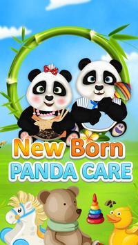 Newborn Panda Care poster