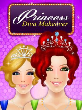 Princess Diva Makeover apk screenshot