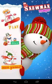 Snowman Maker poster