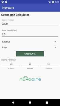 Ozone Calc screenshot 1