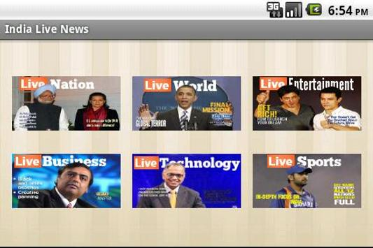 India Live News Lite apk screenshot