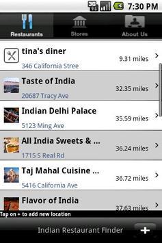 Indian Restaurant Finder World poster