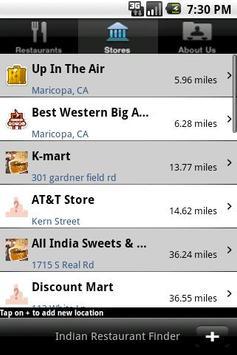 Indian Restaurant Finder World screenshot 1