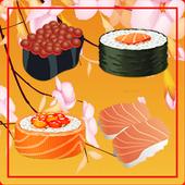 Sushi Jeu Match 3 icône