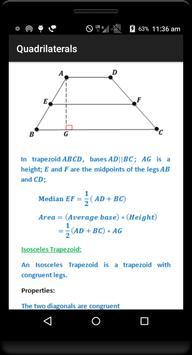 Geometry Formulas (Free) screenshot 4