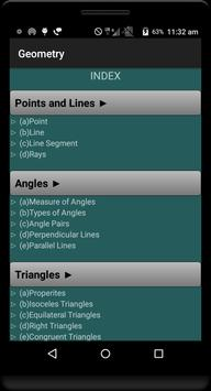 Geometry Formulas (Free) poster