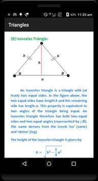 Geometry Formulas (Free) screenshot 3
