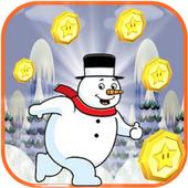 Snow Man Runner icon