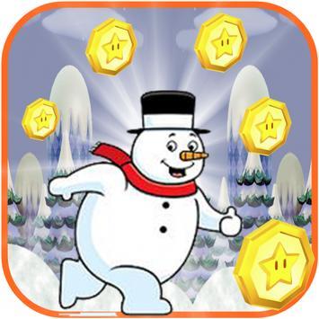 Snow Man Runner poster