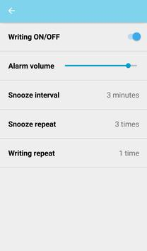 Voca Alarm for learning Korean apk screenshot