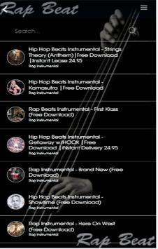 Rap Beat screenshot 1