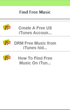 How to find free music apk screenshot