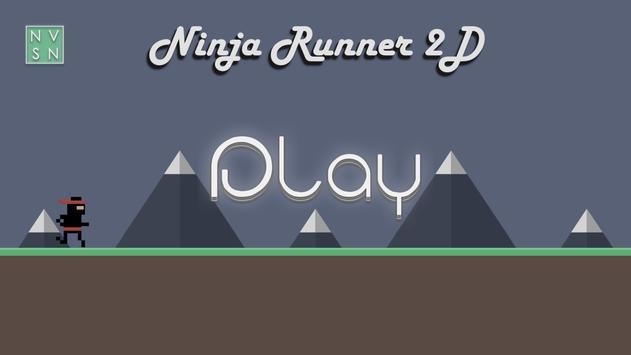 Ninja Runner 2D poster